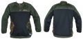 Dye Jersey mit Zip und Taschen oliv XL/XXL