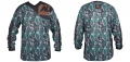 New Legion ultimate Pro Paintball Jersey - woodland camo M/L