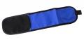 Team Armband mit Klettverschluss blau
