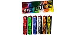 Nico Smoke Tubes Rauchgenerator - 6 Stück - mixed