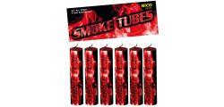 Nico Smoke Tubes Rauchgenerator - 6 Stück - rot