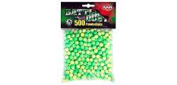 Umarex Battle Dust Powderballs cal.43 500 Stück grün-gelb