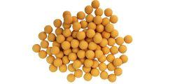 New Legion Rubberballs / Gummibälle cal.68 - im Pot 100 - gelb