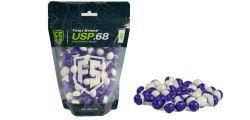 Tiberius First Strike Ultra Sphere Powderballs (USP) - 150 Stück