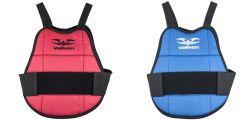 Valken Chest Protector / Brustpanzer für Kinder - blau/rot wendbar