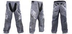 Dye Pants C11 Geometric white grey