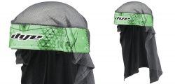 Dye Wrap Bandana mit Netz Kaleid Green