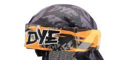 Dye Wrap Bandana mit Netz Tiger Orange