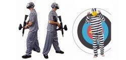Paintball Kostüm - Häftlingskostüm