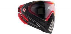 Dye I4 Pro Thermalmaske Dirty Bird red/black
