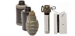 Valken Tactical Thunder B CO2 Knallgranate / Soundgranate mit Core - 3er Pack Multi