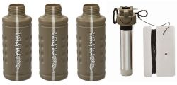 Valken Tactical Thunder B CO2 Knallgranate / Soundgranate mit Core - 3er Pack Shocker