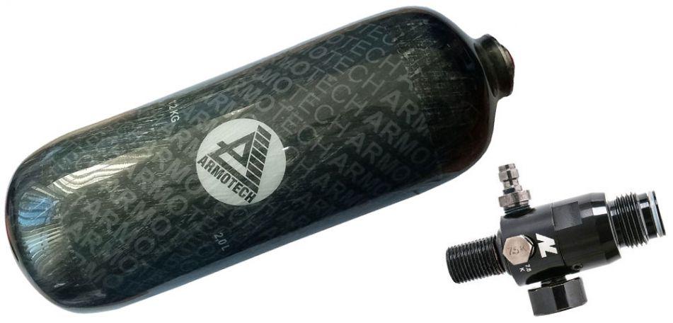 Dye Armotech Core Air 2,0 Liter HP System 2,0 Liter inkl. New Legion Dwarf Regulator 300bar