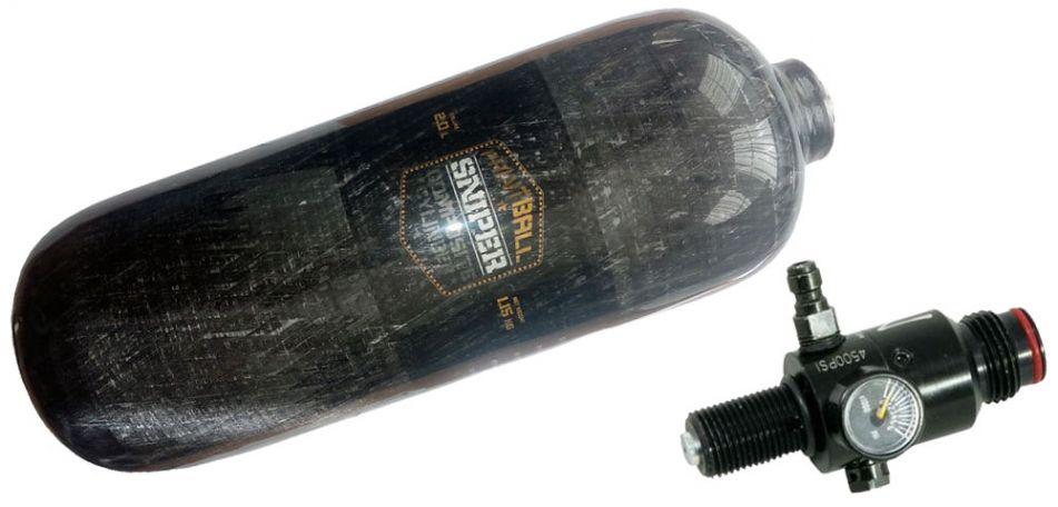 Armotech Sniper Composite HP System 2,0 Liter inkl. Ninja UL Regulator 300bar