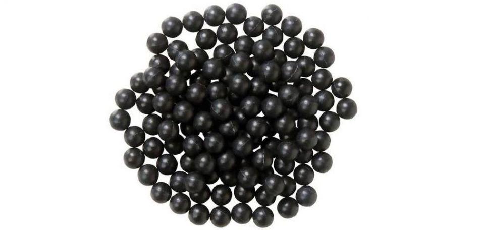 New Legion Rubberballs / Blackballs / Gummibälle cal.50 - 500 Stück