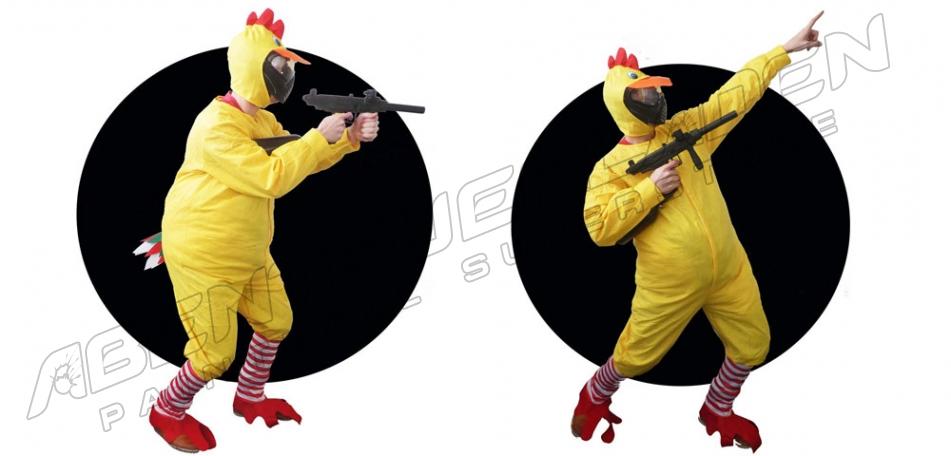 Paintball Kostüm Huhn
