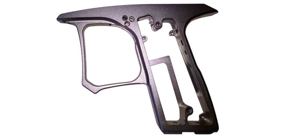 Dangerous Power G4 Grip Frame pewter