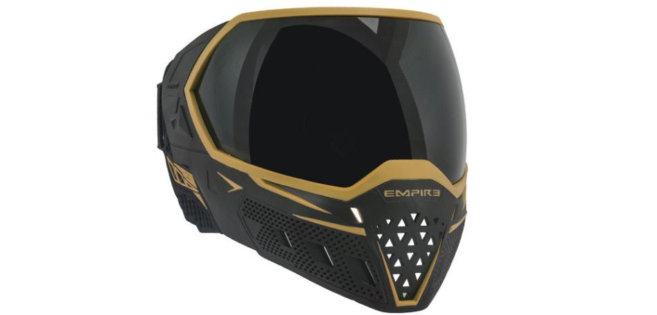 Empire EVS Thermalmaske - black/gold