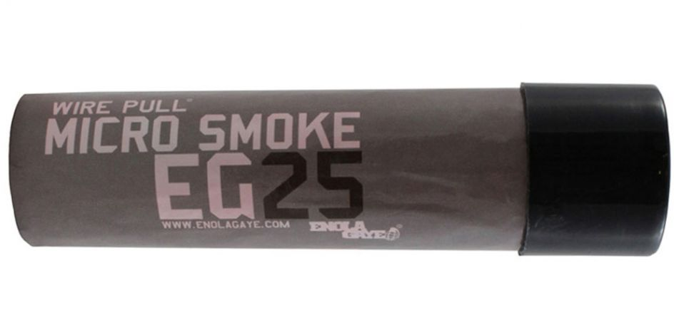 Enola Gaye Wire Pull EG25 Micro Smoke Rauchgranate - schwarz