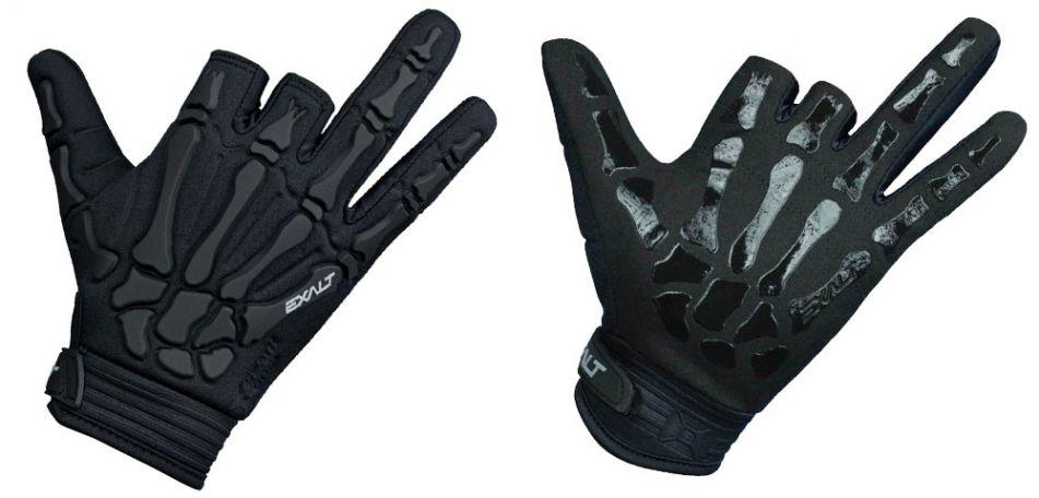 Exalt Death Grip Gloves / Paintball Handschuhe schwarz L