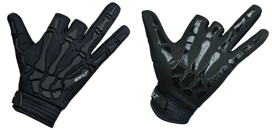 Exalt Death Grip Gloves / Paintball Handschuhe schwarz M