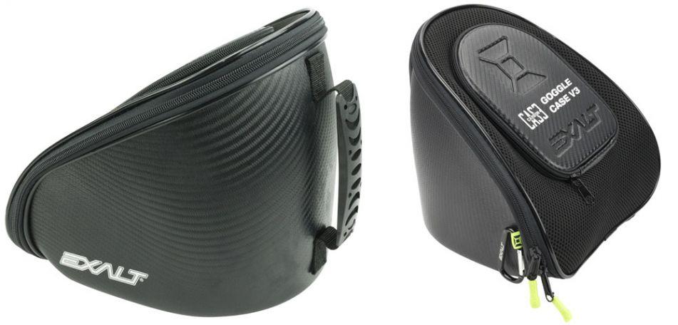Exalt Goggle Case V3 - Paintballmasken Tasche V3 - black lime