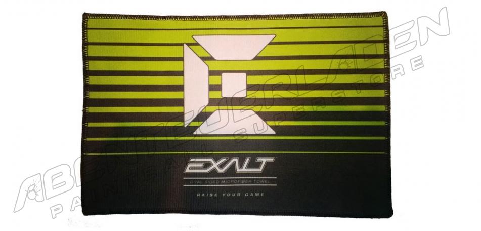 Exalt Microfasertuch - schwarz/lime