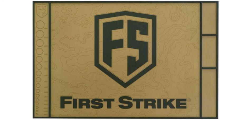 First Strike T15 Rubber Techmatte - tan/oliv