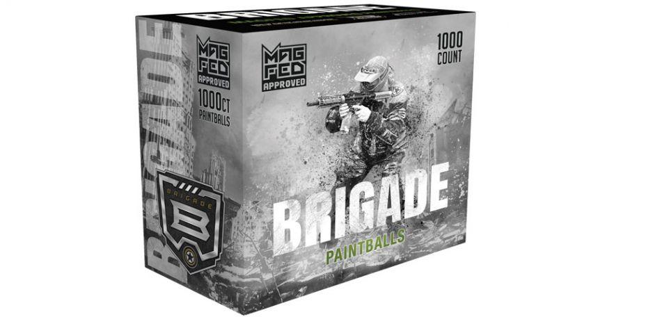 G.I. Sportz Brigade Paintballs für MagFed 1000 Stück Yellow Fill