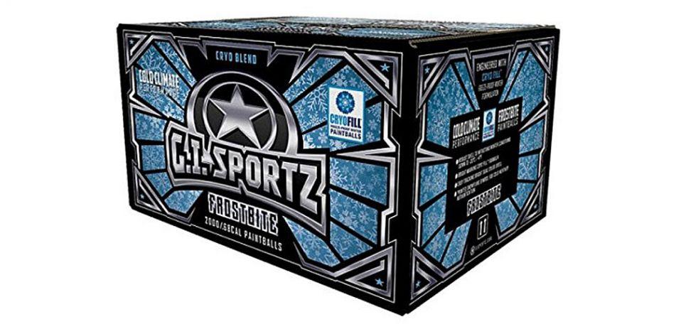 GI Sportz Frostbite Winter Paintballs