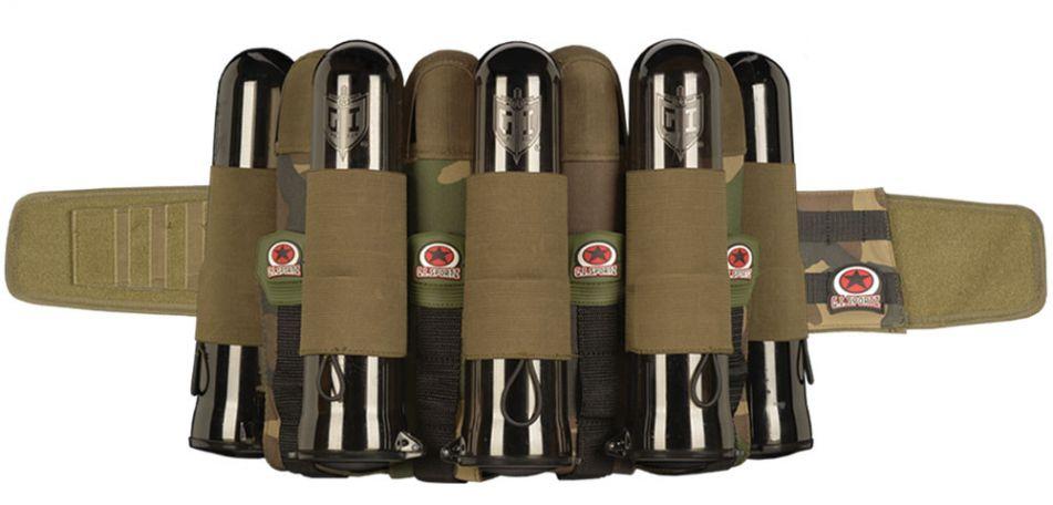 G.I. Sportz Glide Battle Pack 4 + 5 woodland