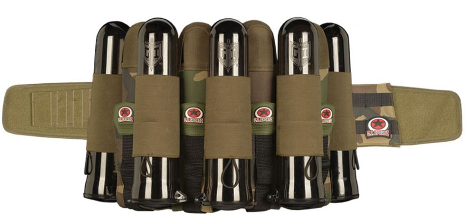 G.I. Sportz Glide Battle Pack 4 + 5 woodland