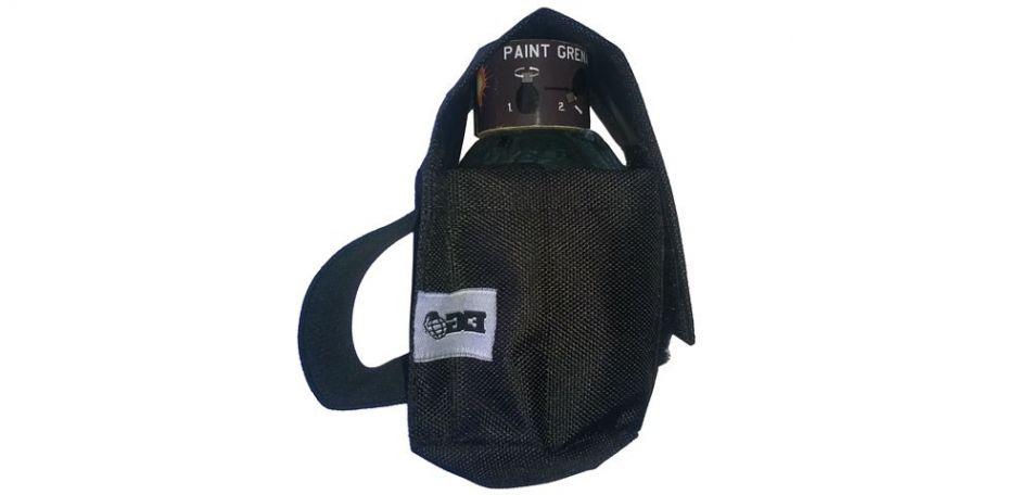 Enola Gaye Granatentasche für Field Paintgranaten schwarz
