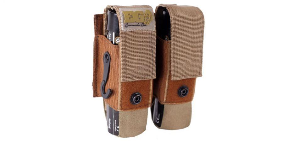 Enola Gaye Granatentasche für Wire Pull Rauchgranaten - tan