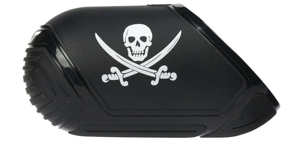 Exalt Tank Cover 68ci / 70ci / 72ci - Jolly Roger Pirate