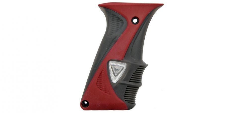 DLX Luxe Grip - red/smoke