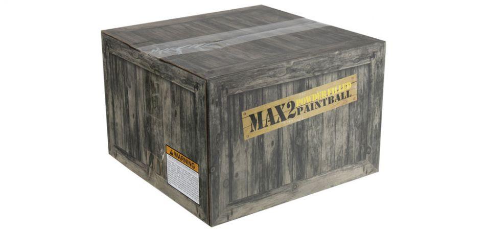 MAX2 Paintball Powderballs / Pulvergeschosse - 2000 Stück