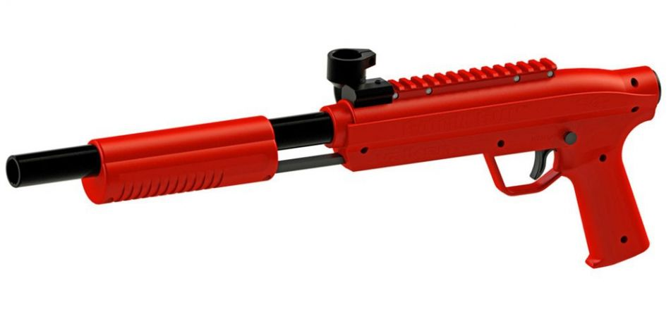 Valken Kids Markierer Gotcha Gun / Shotgun cal. 50 (0.5 J) rot