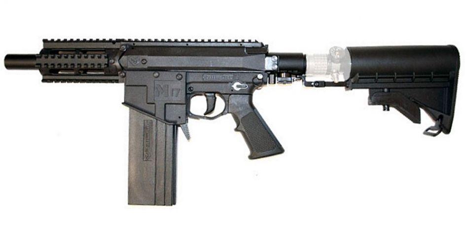 Milsig M17 MagFed CQC A2 schwarz