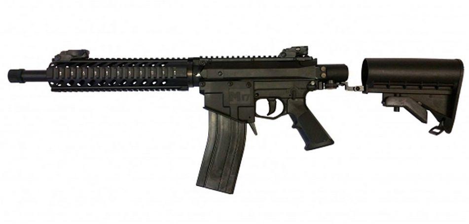 Milsig M17 MagFed Socom (custom) schwarz