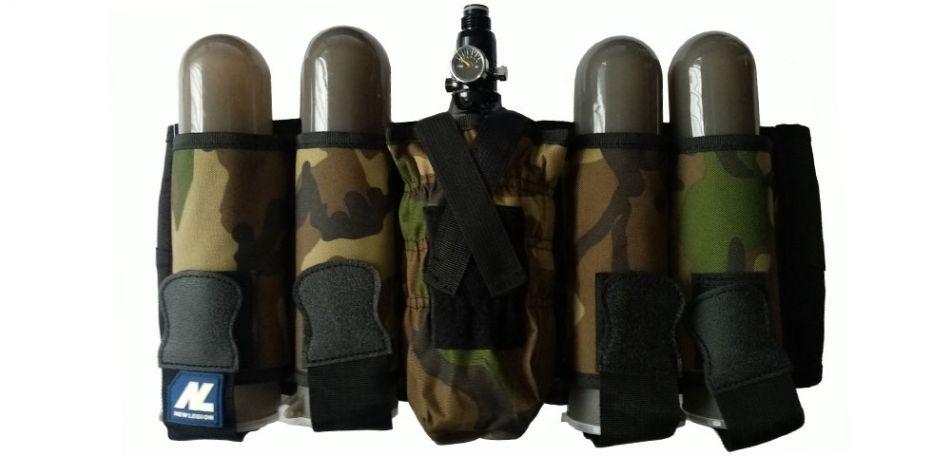 New Legion Battle Pack 4+1 vertikal, camo