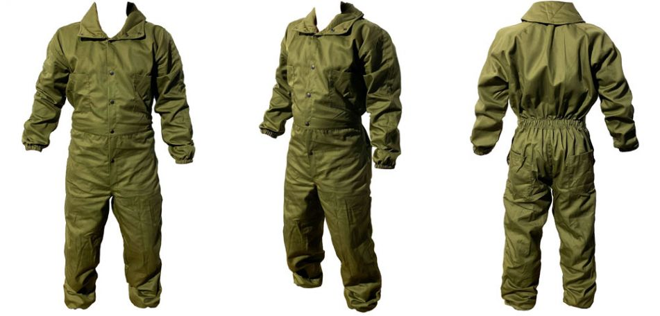 Overall Paintball oliv S/M