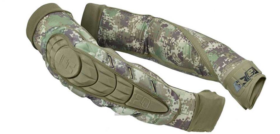 Planet Eclipse Overload Elbow Pads HDE camo M
