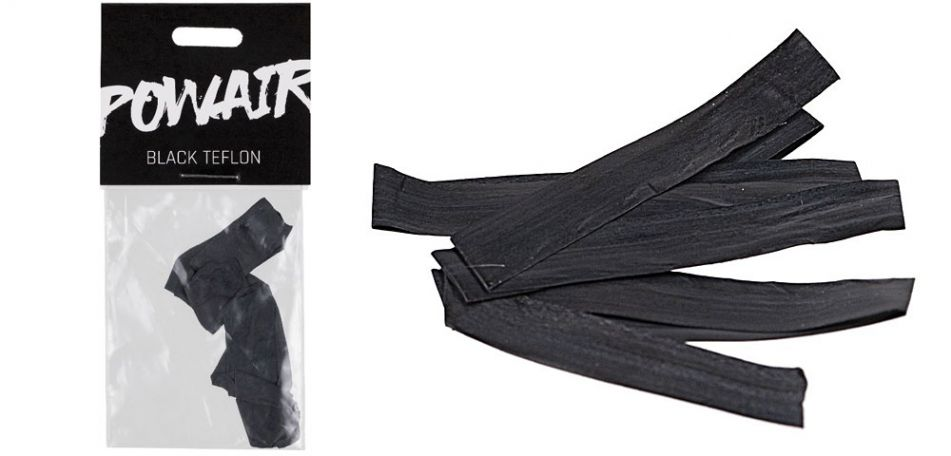 PowAir Black Teflon Tape / schwarzes Teflonband