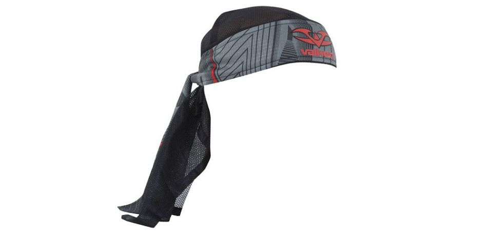 Valken Redemption Vexagon Headwrap red grey