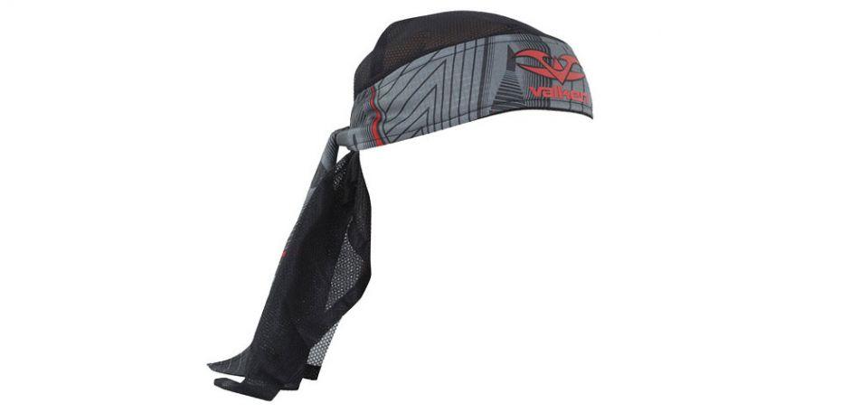 Valken Redemption Vexagon Headwrap red grey