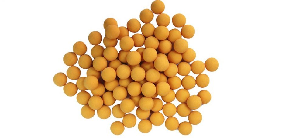 New Legion Rubberballs / Gummibälle cal.68 - 500 Stück - gelb