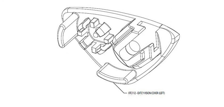 Smart Parts / GoG eXTCy Vision Cover Left XTC112