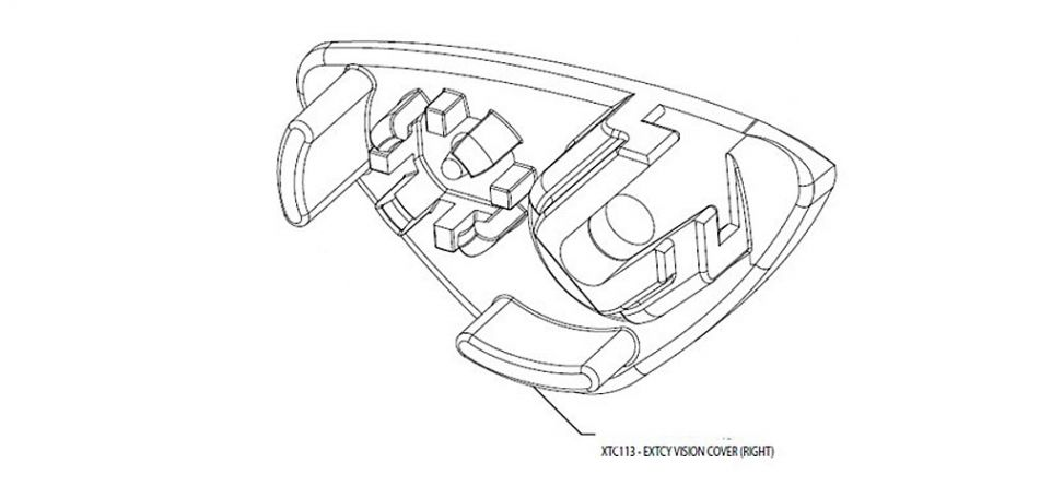 Smart Parts / GoG eXTCy Vision Cover Right XTC113