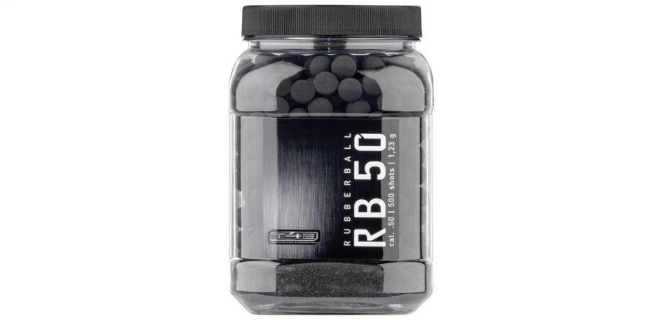 Umarex T4E RB Prac-Series Rubberballs cal.50 - 500 Stück